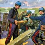 Bataille De Peinture Frais French Artillery Crew In Battle Ww1 War Art Collection