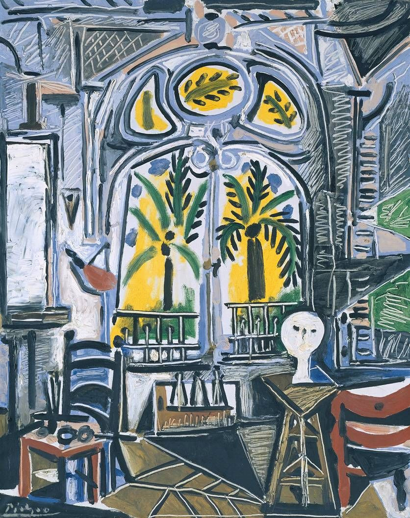 Pablo Picasso Peinture Génial Pablo Picasso the Studio 1955 Oil On Canvas We D Call This A Collection