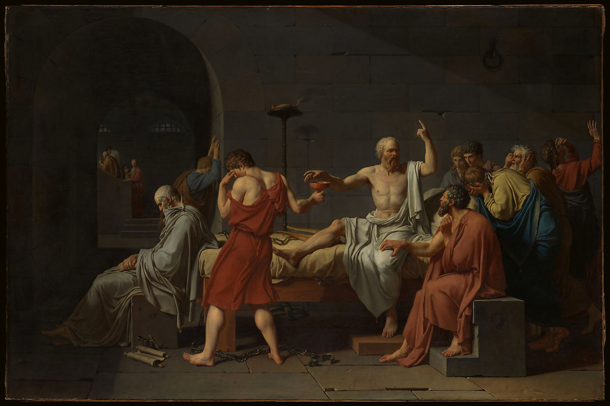 Pablo Picasso Peinture Inspirant Jacques Louis David the Death Of socrates La Photographie