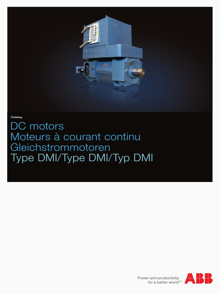 DC motors DMI catalog low res pdf