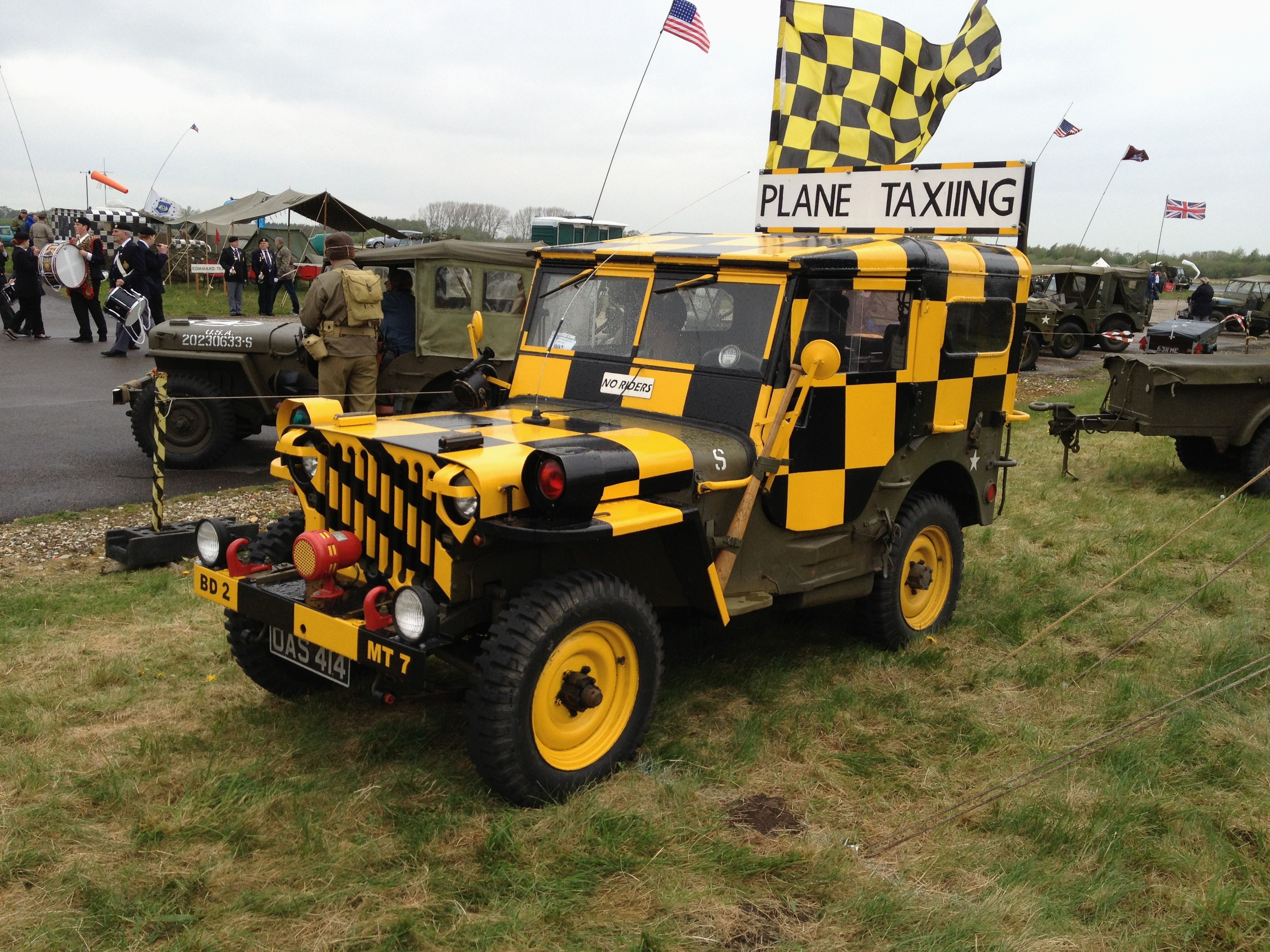 Peinture Jeep Willys Génial Follow Me Airport Jeep at Yorkshire Air Museum Galerie