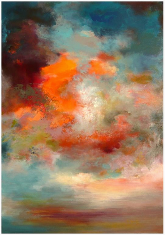 Pinterest Peinture Acrylique Génial the orange Colour In the Sky is Quite Beautiful Rikka Ayasaki Stock