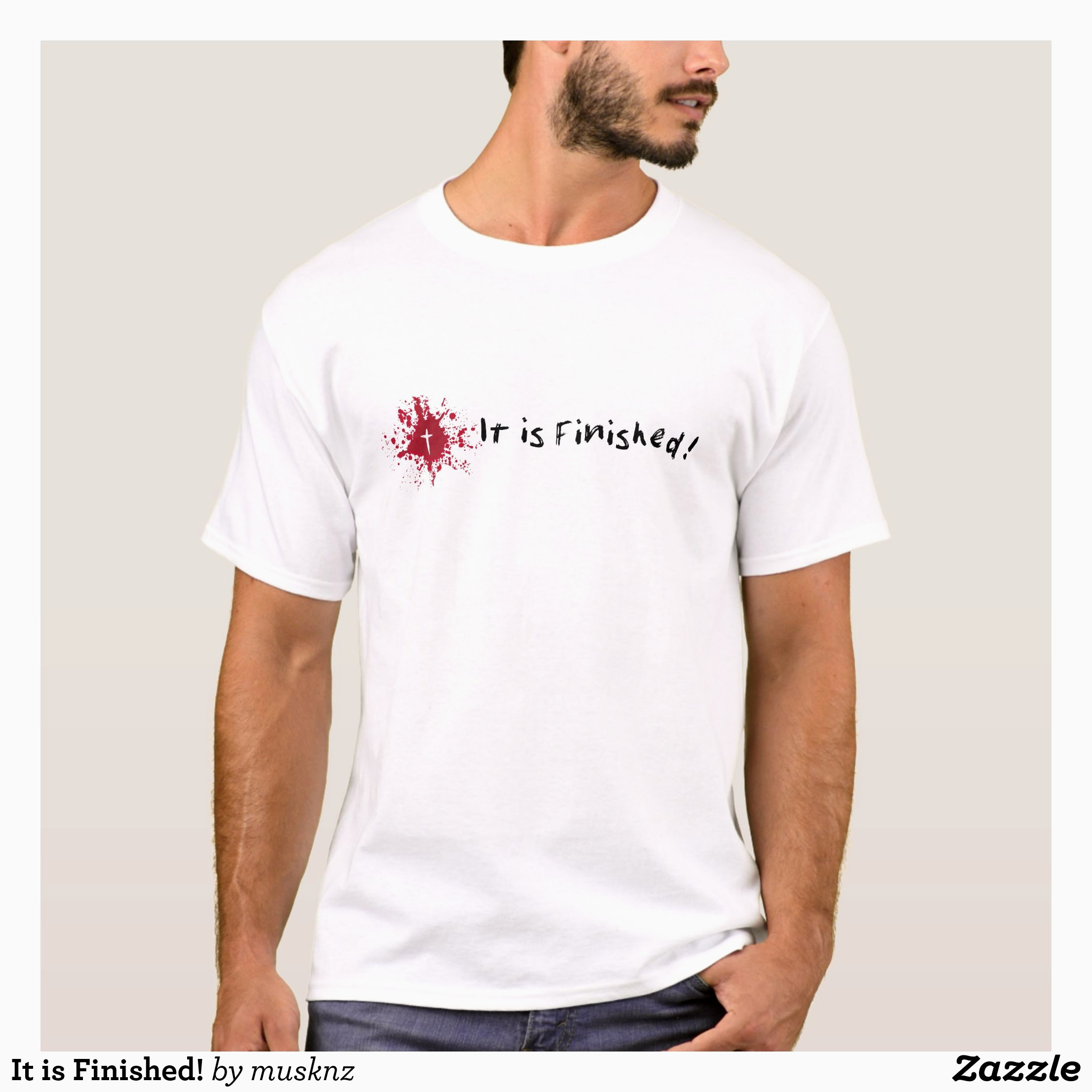 It is Finished T Shirt in 2018